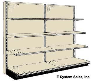 Dollar Store Wall Shelves