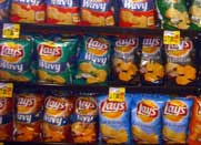 Grocery Chip Display