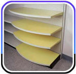 Madix Radius Shelves