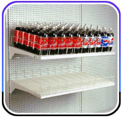 Madix Gravity Feed Soda Shelves