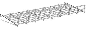 Wire Bed Wall Shelf